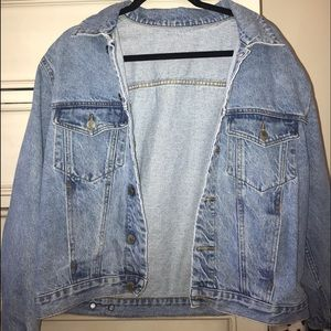 Brandy Melville oversized denim jacket